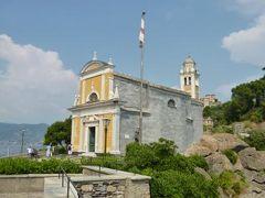 優雅な夏バカンス イタリア・東リビエラの旅♪ Vol129(第11日目午後) ☆ポルトフィーノ:岬の美しい「サン・ジョルジョ教会」と素晴らしい絶景♪