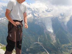夏のスイス☆5大名峰と絶景列車の旅⑤♪シャモニ・モンブラン・ブレヴァン展望台編
