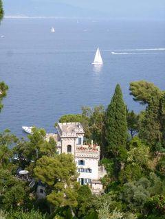 優雅な夏バカンス イタリア・東リビエラの旅♪ Vol132(第11日目午後) ☆ポルトフィーノ:岬の「ブラウン城」からポルトフィーノへ森の中を歩く♪