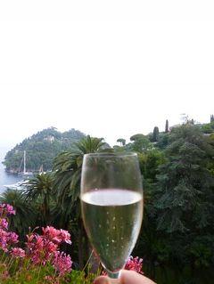 優雅な夏バカンス イタリア・東リビエラの旅♪ Vol134(第11日目夕) ☆ポルトフィーノ:「Hotel Splendido」からサプライズ!シャンパンで乾杯♪