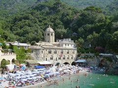優雅な夏バカンス イタリア・東リビエラの旅♪ Vol141(第12日目午前) ☆サン・フルットゥオーゾ(S.Fruttuoso):美しいビーチで優雅に過ごす♪