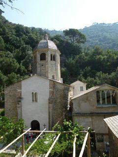 優雅な夏バカンス イタリア・東リビエラの旅♪ Vol142(第12日目昼) ☆サン・フルットゥオーゾ(S.Fruttuoso):修道院や教会を眺めて♪