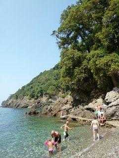 優雅な夏バカンス イタリア・東リビエラの旅♪ Vol143(第12日目昼) ☆サン・フルットゥオーゾ(S.Fruttuoso):隣のビーチは美しい♪