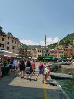 優雅な夏バカンス イタリア・東リビエラの旅♪ Vol146(第12日目午後) ☆ポルトフィーノ:夏の日差しがまぶしいポルトフィーノを散策♪