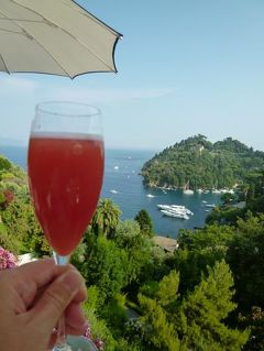 優雅な夏バカンス イタリア・東リビエラの旅♪ Vol148(第12日目夕) ☆ポルトフィーノ:「Hotel Splendido」の優雅なアペリティフタイム♪