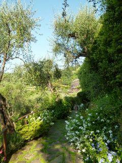 優雅な夏バカンス イタリア・東リビエラの旅♪ Vol151(第13日目朝) ☆ポルトフィーノ:「Hotel Splendido」の美しい庭園を優雅な朝散歩♪