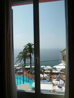 優雅な夏バカンス イタリア・東リビエラの旅♪ Vol154(第13日目昼) ☆カモーリ:リゾートホテル「Hotel Cenobio dei Dogi」のジュニアスイートルーム♪