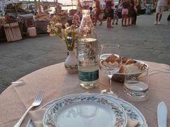 優雅な夏バカンス イタリア・東リビエラの旅♪ Vol162(第13日目夜) ☆カモーリ:レストラン「Vento Ariel」で美しい夕暮れを眺めながらディナー♪