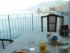 優雅な夏バカンス イタリア・東リビエラの旅♪ Vol164(第14日目朝) ☆カモーリ:「Hotel Cenobio dei Dogi」の朝食と朝のビーチを散策♪