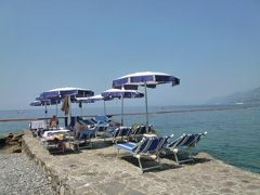 優雅な夏バカンス イタリア・東リビエラの旅♪ Vol167(第14日目午前) ☆カモーリ:「Hotel Cenobio dei Dogi」のプライベートビーチで優雅に過ごす♪