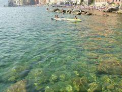 優雅な夏バカンス イタリア・東リビエラの旅♪ Vol171(第14日目午後) ☆カモーリ:「Hotel Cenobio dei Dogi」のプライベートビーチでまったりと過ごす♪