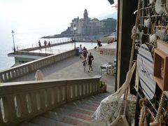 優雅な夏バカンス イタリア・東リビエラの旅♪ Vol172(第14日目夕) ☆カモーリ:黄昏のカモーリを歩いてイタリア旅行最後のショッピングを楽しむ♪