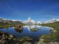 スイス花とハイキングの旅・逆さマッターホルンを訪ねて