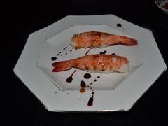 高山で日本海しらうおの寿司&美術館