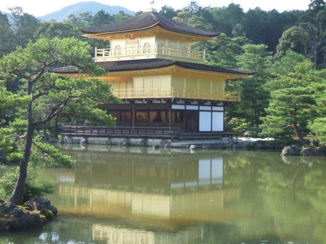 バスと徒歩で2日かけて京都の観光名所を歩きました。