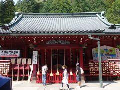 パワースポット箱根神社でエネルギー補給。元気になりました。