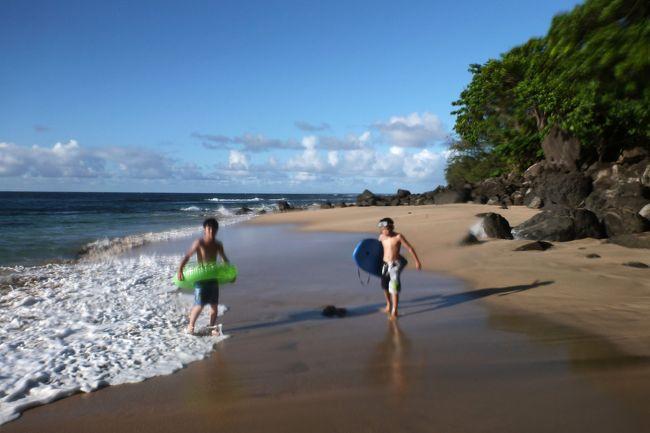 今年も子供たち(中1、小5)の夏休みと私の休みを合わせ、カウアイ島へ行ってきました。今回のテーマは、家族がみんな大好きな「パイレーツオブカリビアン 生命の泉」のロケ地を中心に観光してきました。大自然に囲まれ、新たな出会いもあり、宝物のような思い出になりました。
