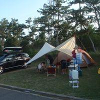 夏休み最後の海水浴キャンプ