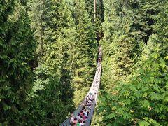 夏のキャピラノ吊り橋 → 日系人の夏祭り パウエル祭