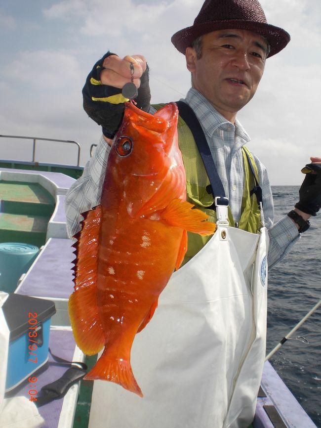 いよいよ9月<br />マダマダ暑さが続きます<br />秋魚シーズン<br />出船時更新の増殖タイプです<br />