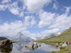 スイス・ツェルマット【ハイキング】ブラオヘルト ⇔ シュテリゼー(ステリゼー)/Stellisee