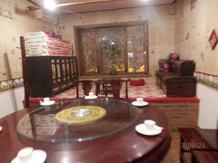 23金曜3日目9よる北京図門長春 延吉ー長春空港 夕食は朝鮮族地元料理
