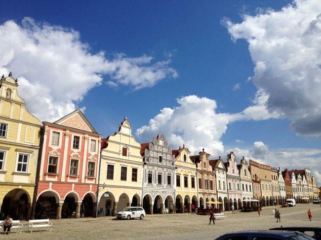 プラハ滞在三日目とバスで移動したテルチ、チェスケーブディエヨヴィツェ(第四日目)の旅行記です。