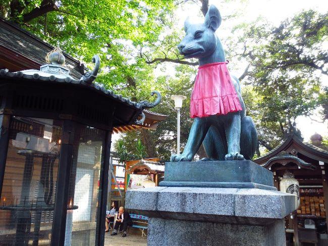 今回は用事ついでに・・・短い時間でしたが、東京・赤坂にある<br />「豊川稲荷東京別院」にふらりとお参りに行って来ました。<br />用事ついでと言う事で、写真も少ないので簡単に・・・<br /><br />名前を見てもわかる通り・・・コチラは愛知県の豊川にある<br />「豊川稲荷 妙厳寺」の直轄別院です。<br /><br />一般的に「稲荷」と呼ばれる場合は「狐を祀った神社」を<br />想像される方が多いと思いますが、豊川稲荷は曹洞宗の寺院です。<br /><br />今回、私は目的があり・・・コチラのお寺を訪れました。<br />今年の夏…私は日光街道歩きの疲れからか風邪をひき、<br />1ヶ月以上苦しみましたが、9月に入りやっと体調も復活!!<br /><br />秋は日光街道歩きのゴール旅(まだ予定段階ですが)の他に<br />今月末から1人旅も予定しているので・・・まだまだページに余裕が<br />あるとは言え、御朱印帳が足りなくなるかもしれないっ。<br /><br />参拝した先の神社やお寺に必ず御朱印帳がある訳でも無いし・・・<br />ましてや、可愛いデザインの「御朱印帳」なんてそうそうない。<br />・・・・と言う事で、今回「赤坂・豊川稲荷」にやって来たんです。<br /><br />コチラのお寺の御朱印帳は、女性に大変人気があります。<br />御朱印帳が目的で、お寺にお参りに行くのは失礼な話かも<br />しれませんが・・・キチンとお参りはしたので。(苦笑)<br /><br />とても蒸し暑い日でしたが、久しぶりにゆったりとお参りし・・<br />目的の、素敵な「御朱印帳」も手に入れて良い1日になりました♪