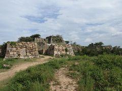 2013年8月  改良前の竹田城跡
