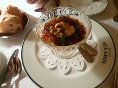 初秋の丸の内 「ブラッスリーオザミ」で優雅なディナー♪