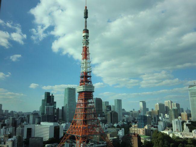 東京芝公園にあるプリンスパークタワープレミアムフロアのプレミアムダブルルームに宿泊しました。各階フロアに1つしかないバスタブからも東京タワーが見ることができるビューバスのお部屋です。プレミアムラウンジで過ごす東京タワーづくしの週末です。