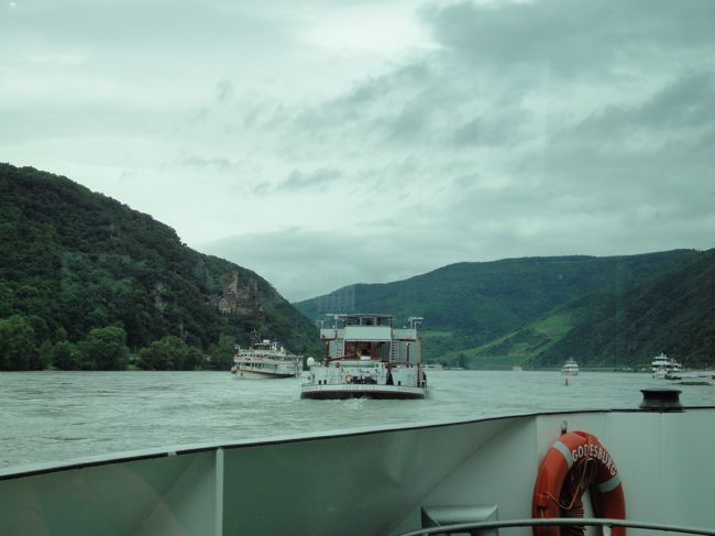 ドイツ 列車で 6泊8日の旅 フランクフルト・ライン川編(6日目)