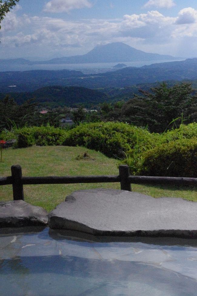 8月に鹿児島霧島温泉郷から桜島へ行きました。前日に桜島が大噴火!!<br />