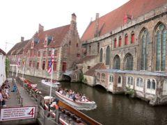 団塊夫婦の世界一周絶景の旅2013年・ヨーロッパ編ーベルギー(2):ブルージュへ