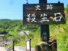 那須Walk3/3 史跡 殺生石~温泉神社/参拝 ☆御神木:《五葉松・生きるミズナラ》