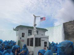 2013年秋 『家族』で行くカナダ&ニューヨーク  Part4(2日目 前半の目玉イベント『霧の乙女号』乗船、ナイアガラの滝の凄まじさを体感してきました。)