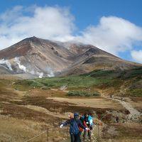 「北海道縦断」(7)大雪山空中散歩 晩秋の彩り旭岳