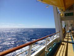 リバティ・オブ・ザ・シーズ・西地中海クルーズ(2013年夏)⑦終日航海日