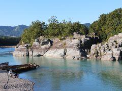 秩父の赤壁「初秋の長瀞渓谷」