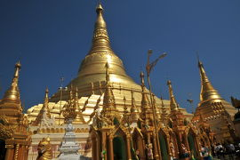 ヤンゴン(2):究極の黄金仏塔 ◆ミャンマー3日間の旅 8/9◆