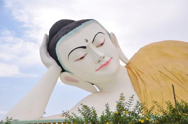 バゴー:寝仏を仰ぎ見る ◆ミャンマー3日間の旅 1/9◆
