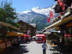 2013年スイス(21) 街のご紹介、次は ~ Saas Fee