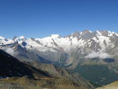 2013年スイス(23) ミシャベル全体を見渡せますね ~ Hohsaas