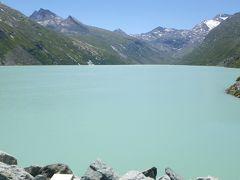 2013年スイス(24) 前回、遠くに見えてたダム湖 ~ Mattmark