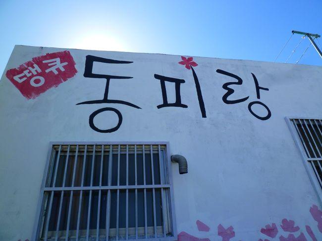 秋のプサン・のんびり一人旅★ 2日目 ~1day trip! トンピラン壁画村を目指せ!~