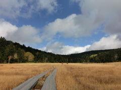2013秋と冬をいっぺんに先取り★尾瀬の草紅葉 & 初冠雪の燧ヶ岳