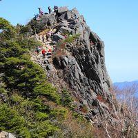 秋晴れの八ヶ岳登山(白駒池~高見石~中山展望台~にゅう~白駒池)