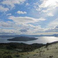 美幌峠からの屈斜路湖の光景!