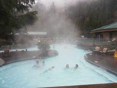 バンクーバーから1泊2日でスキーと温泉(Hemlock Resort & Harrison Hot Springs )