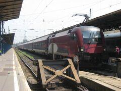 2013年夏ドイツ・オーストリア・ハンガリー弾丸周遊(その4 「Railjet」でウィーンからブダペストへ)